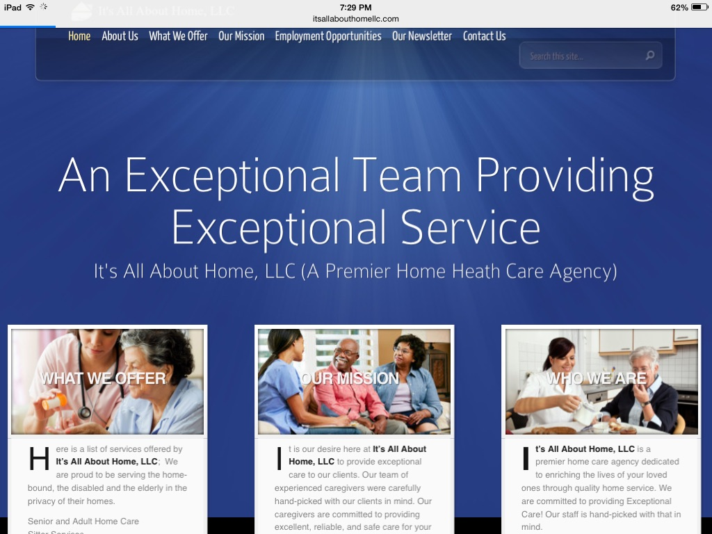 Website Design Available (Sample Design)