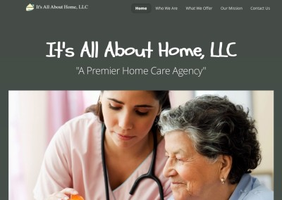 Website Design (It's All About Home, LLC)