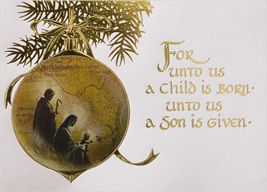 For Unto Us A Child Is Born (Quiet-Time Review)